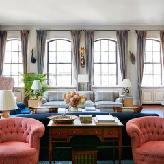 A Look Inside Nicky Hilton's Super Chic NoHo Penthouse
