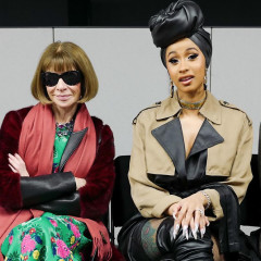 Anna Wintour & Cardi B Are Total BFF Goals At Alexander Wang