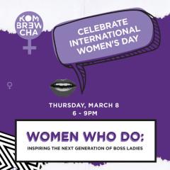 Celebrate International Women's Day With Kombrewcha