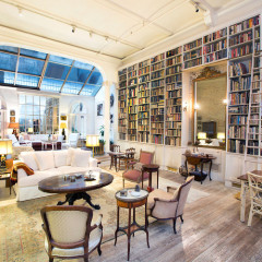 This Enchanting Noho Loft Is A Book-Lover's Dream