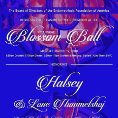 9th Annual Blossom Ball Honoring Halsey