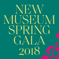 New Museum Spring Gala