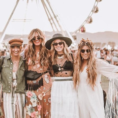 Squad Goals: The Hottest Girl Gangs At Coachella 2018