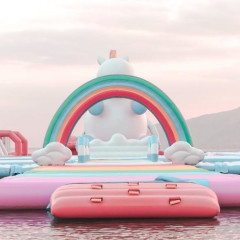 This Giant Floating Unicorn Island In The Philippines Is Insane