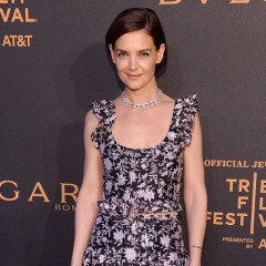 Katie Holmes & Suki Waterhouse Attend Bulgari Premiere At The Tribeca Film Festival