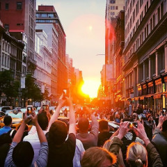 The Best Instagrams From Manhattanhenge 2018