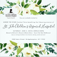 Under The Stars to Benefit St. Judes