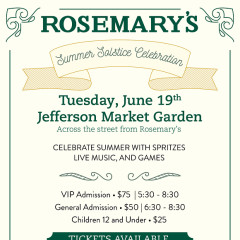 Rosemary's Summer Solstice Celebration