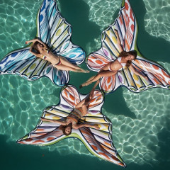 How Majestic Are These Missoni Butterfly Pool Floats!?