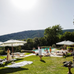 When Billionaires Rosetta & Balthazar Getty Throw A 4th Of July Bash In Tuscany