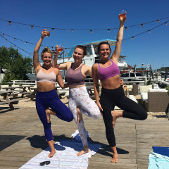 Drunk Yoga Has Come To Montauk