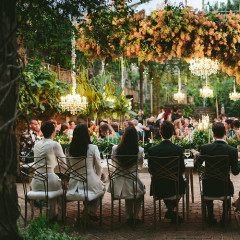 This Lush Hawaiian Wedding Turned Tropical Into Black Tie