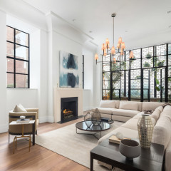The $23 Million West Village Townhouse Lady Gaga Rented In NYC