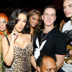 Cardi B & Jeremy Scott Christen NYC's Brand New Playboy Club