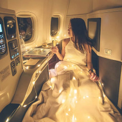 The Internet Is SO Mad At This Luxe First-Class Instagram Post