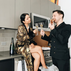 #StayTheFuckHome Goals: An It Couple's Williamsburg Pad Filled With Virgil Abloh & Pizza