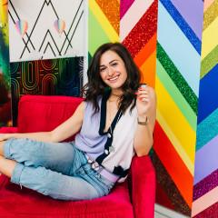 Color Is A Way Of Life Inside Elizabeth Sutton's Amazing Art Studio