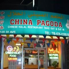 Halal Food Carts Meets Kosher Chinese: China Pagoda