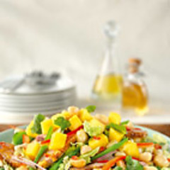 What's Cooking In Christina's Kitchen? Duck Salad With Orange Coriander Dressing