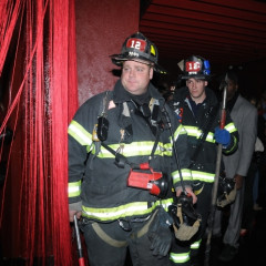 Photo Of The Day: Firemen Enter Cain Luxe