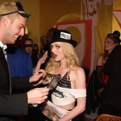 Lydia Hearst Goes As A Page Six Tabloid For Best Halloween Costume Last Night