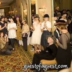 Hats Off to Mimi Weddell Party At The Algonquin Hotel!