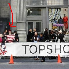 Photo Of The Day: Waldo Crashes Topshop Parade