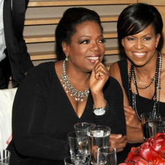 Oprah Joins Forces With First Lady Michelle Obama At The Time Magazine's 100 Most Influential People Celebration