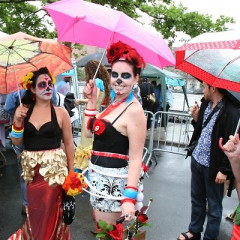 King Neptune 'Rains' At Coney Island's Colorful Mermaid Parade