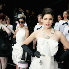 Models Dress Like Audrey Hepburn For 80th Birthday Tribute