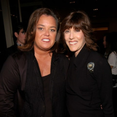 Rosie O'Donnell And Nora Ephron Perform At Armani's FNO
