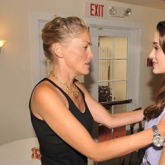 A Conversation Between Sharon Stone And Emmy Rossum
