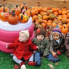 Old Navy Invites NYC Kids To Play In Their Pumpkin Patch