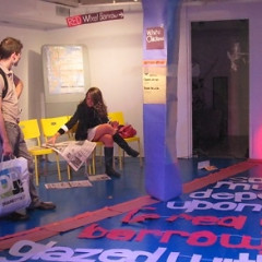 Window Hopping: Times Square Performance Art