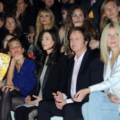 Photo Of The Day: Dad Is Front And Center At Stella McCartney