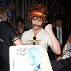 Penn Badgley Celebrates Halloween, And His Birthday, With Fellow Gossip Girls At 1 OAK
