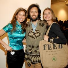 Lauren Bush Hosts Feed-Raiser At Chelsea Art Museum