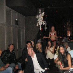 Unsurprisingly, Model Agency Holiday Party Looks Like, Well, Another Night At 1 Oak