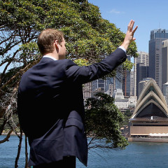 Prince William's Big Trip Down Under