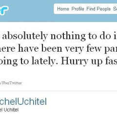 Rachel Uchitel Is Stir Crazy, Can't Wait For Fashion Week.