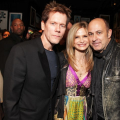 Kevin Bacon, Kelly Cutrone Rock Out At John Varvatos