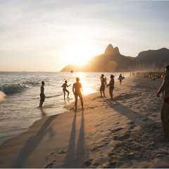 Wouldn't You Like To Be On A Beach In Rio Right Now? Maybe Not!