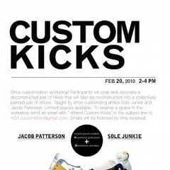 Jacob Patterson And Sole Junkie Team Up For