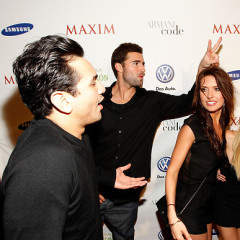 The Cast Of The Hills Pals Around At The Maxim 2010 Party