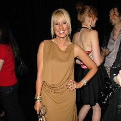 Courtenay Semel And Mena Suvari Attend Brand Equity Fall 2010 Fashion Show