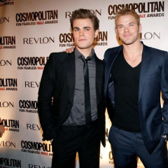Kellan Lutz and Paul Wesley Ditch Their Fangs For Cosmo's Fun Fearless Male Awards