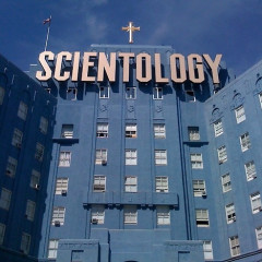 Scientology! Behold, The Mothership!