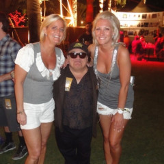 Danny DeVito Pops Up At Coachella 2010!