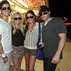 Hollywood Comes Out For The Neon Carnival Party At Coachella
