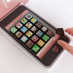 The Best Guests Come Bearing Gifts... iPhone App Chocolates!